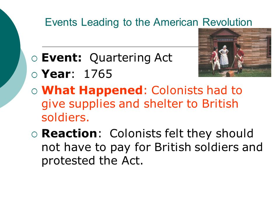 events that led to the american revolution essay American revolution essay questions this collection of american revolution essay questions has been written and compiled by alpha history authors, for use by teachers and students they can also be used for short answer questions, discussion points or other research or revision tasks.