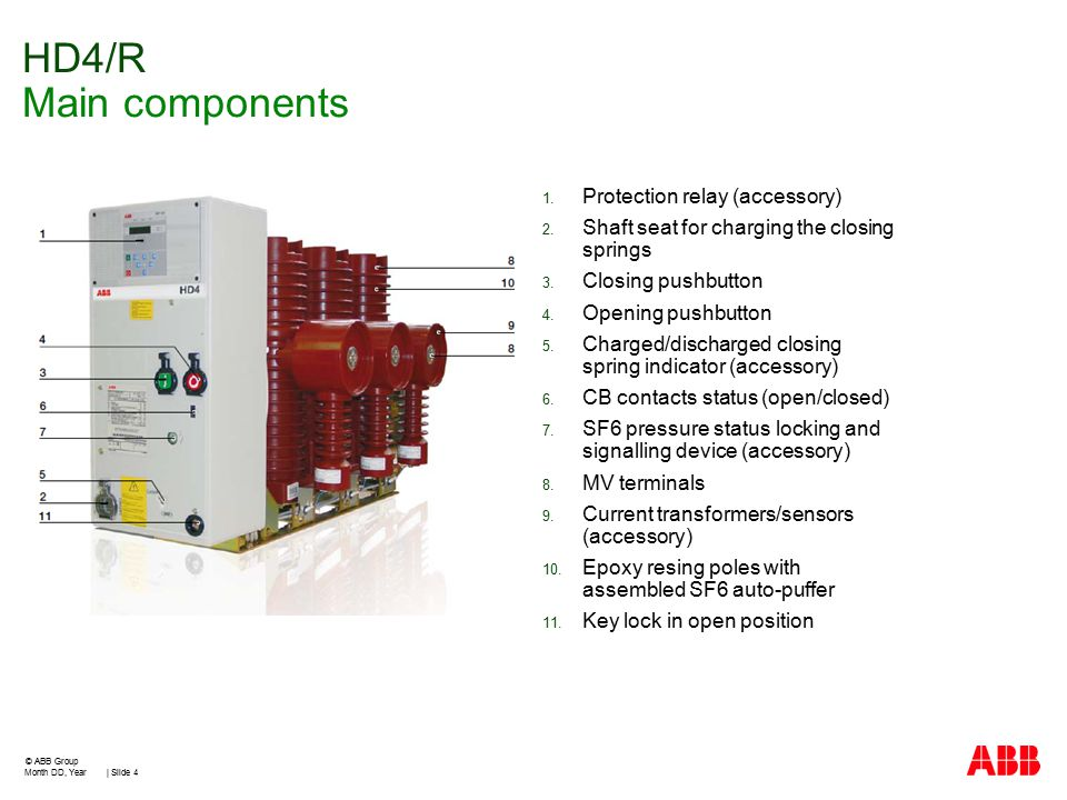 Mv Sf6 Circuit Breakers For Secondary Distribution Ppt