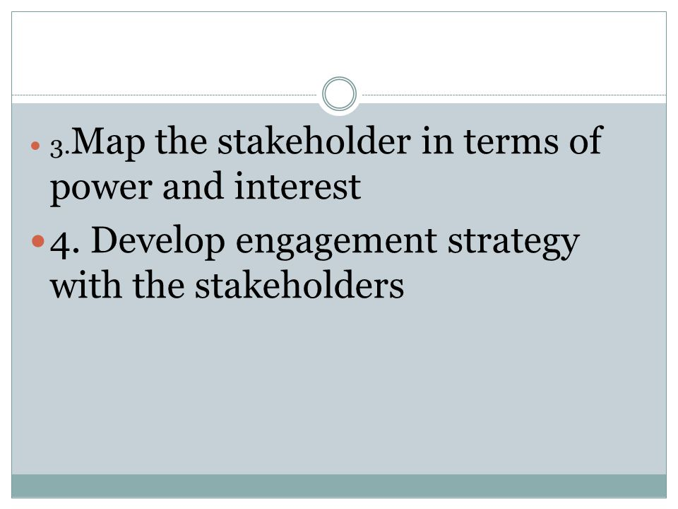 how to develop a stakeholder engagement plan