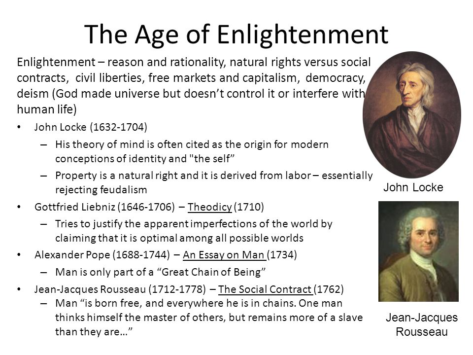 modernity and the age of enlightenment essay