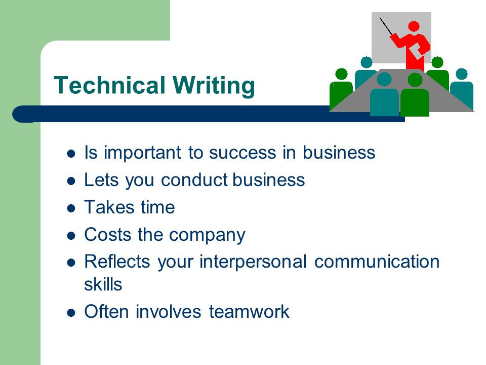 technical writing for success Proofreading, revising, and editing skills success in 20 minutes a day begins with a discussion about the steps to create a piece of writing writing goes public, you must iron out the transitions between ideas and make sure your paragraphs are struc.