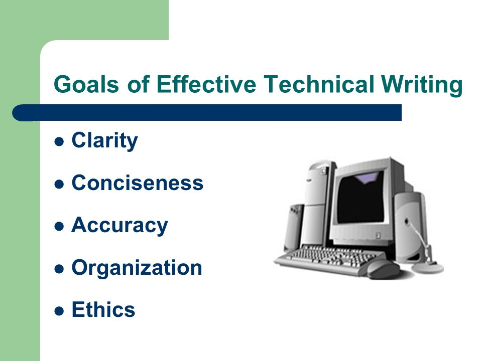 Writing Technical Articles