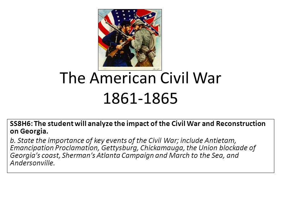 an analysis of the causes of the american civil war in 1861 65 The civil war is the central event in america's historical consciousness while the revolution of 1776-1783 created the united states, the civil war of 1861.
