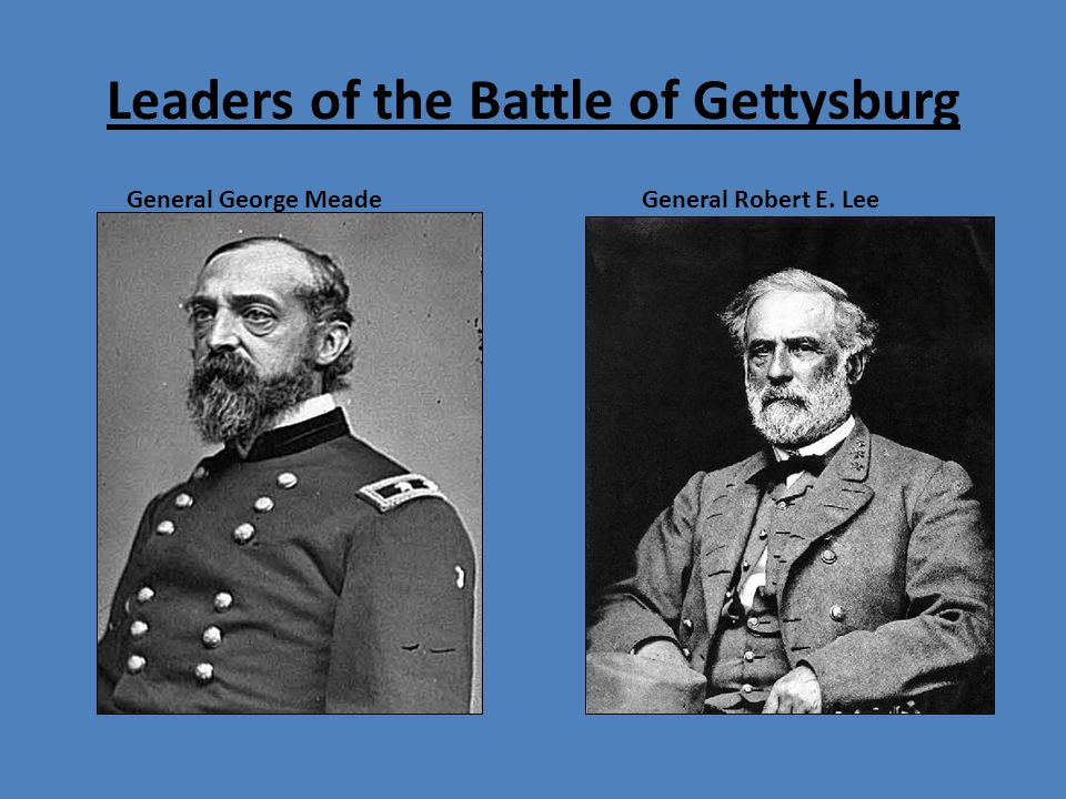 meet and defeated robert lee at the battle of gettysburg