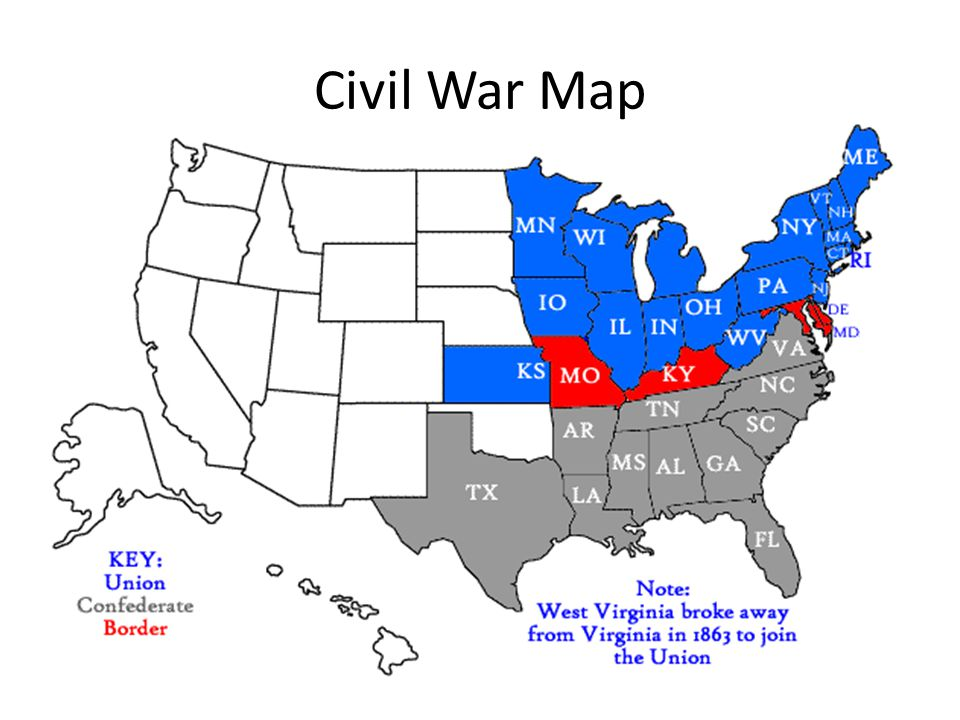 the american civil war and its main outcomes The battle of bull run, on july 21, 1861, was the first major engagement of the civil war in the summer of 1861, confederate troops were massing in virginia, and union troops marched southward to fight them.
