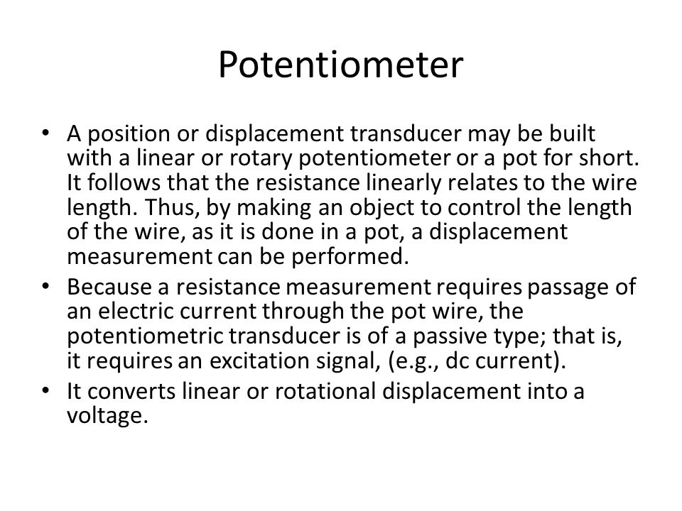 Unusual Symbol Of Potentiometer Gallery - Electrical and Wiring ...