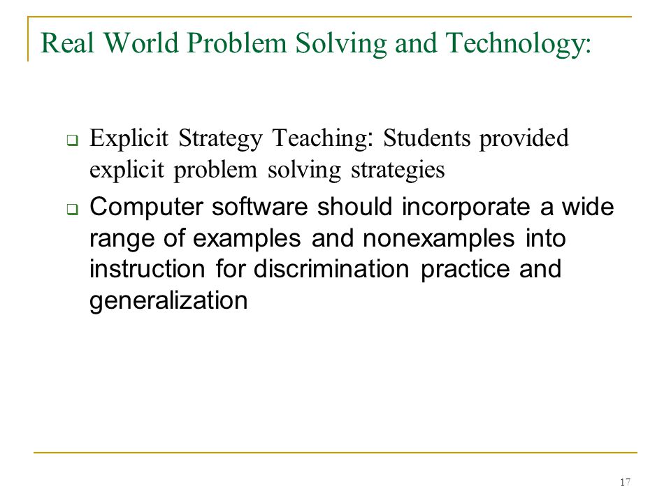 real-world problem solving essays In this lesson you will learn to convert a real-world situation into an equation solve problems by writing and solving equations created by: suzanne geltman.