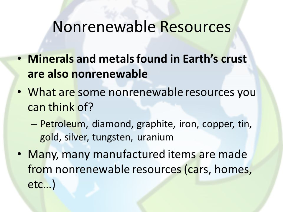 Chapter 12: Conserving Resources - ppt download