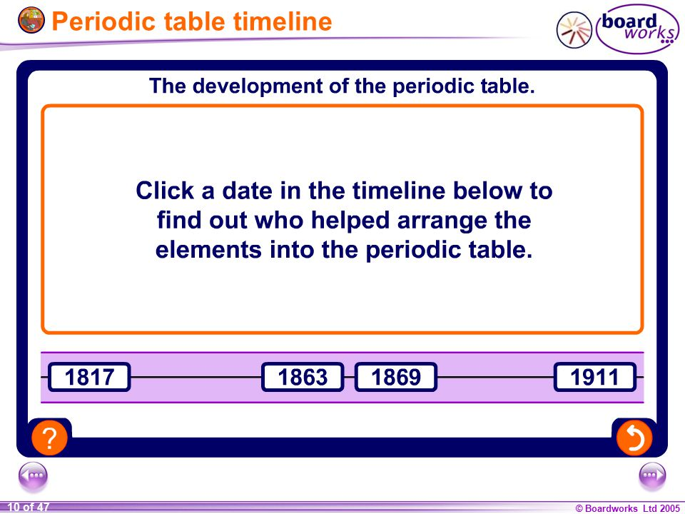 how how was the periodic table developed timeline ks4 chemistry the periodic table - Periodic Table Timeline