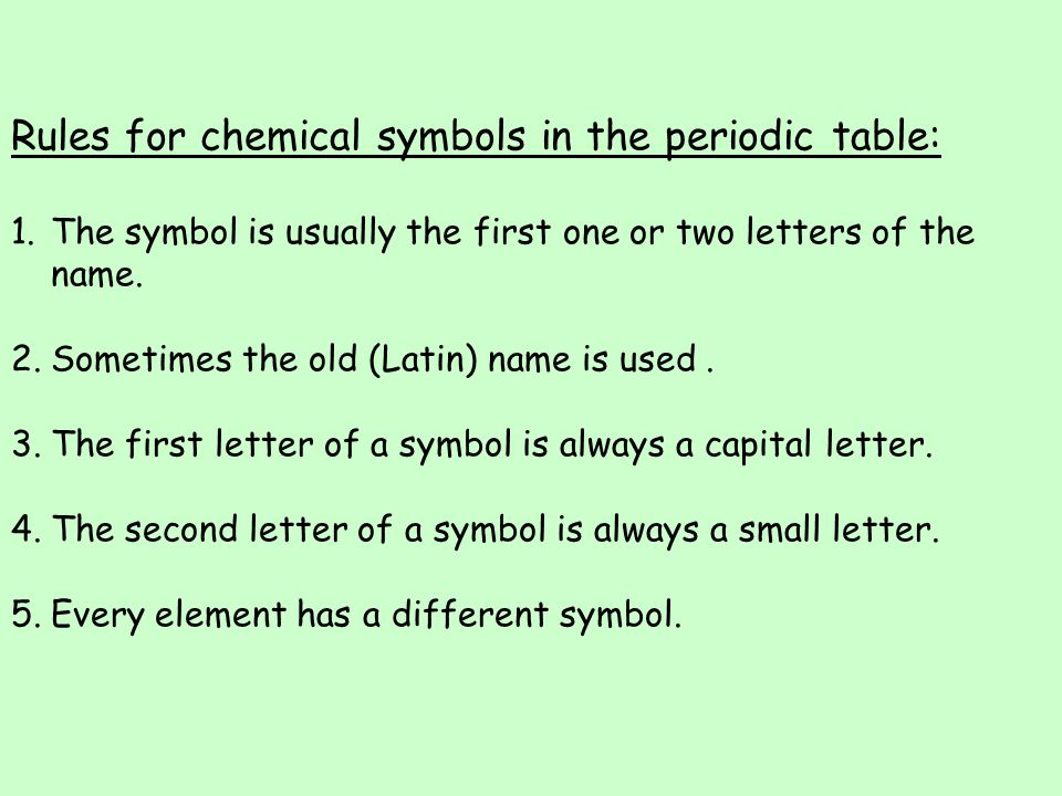 Periodic Table Chemical Symbols Quiz Image Collections Periodic