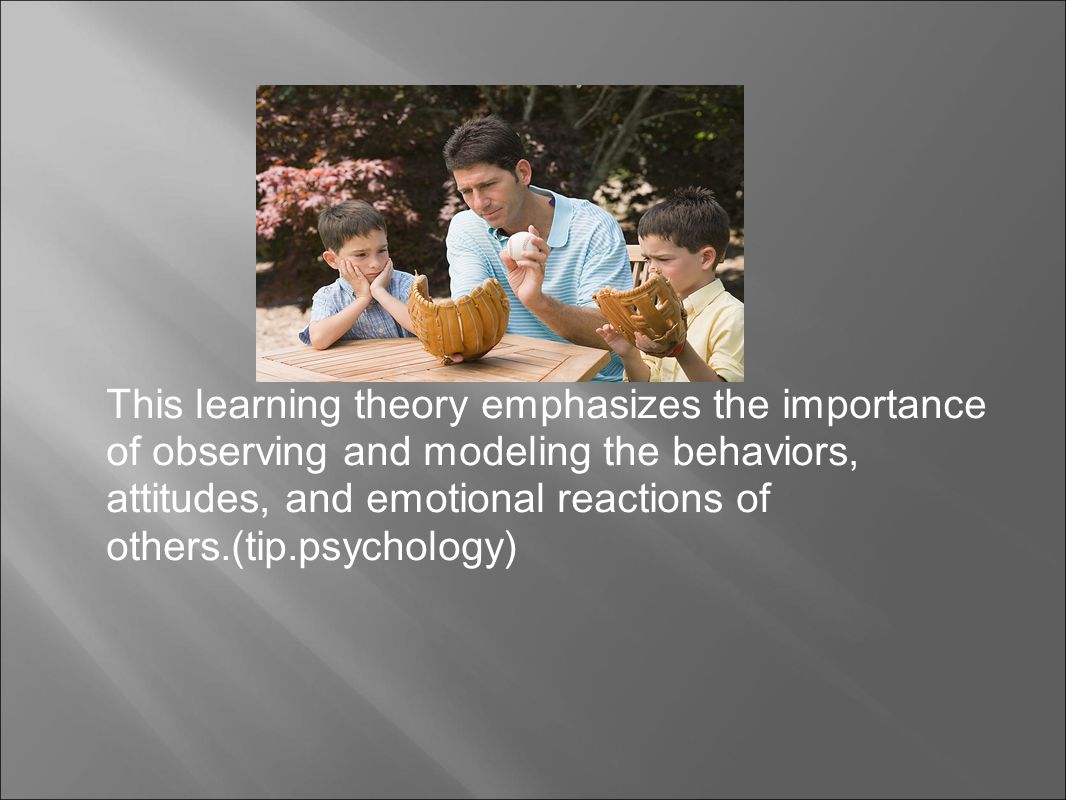 an analysis of albert bandura on his theory which is based on observational learning and modeling be Bandura's social learning & vygotsky's social-historical theories  (2011), chapters 9 & 10 albert bandura (1925  observational learning and modeling for.