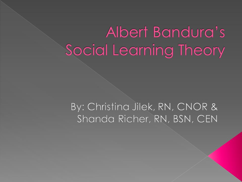 albert bandura social cognitive theory a critique and comparison Social cognitive theory (sct), used in psychology, education, and communication, holds that portions of an individual's knowledge acquisition can be directly related to observing others within the context.
