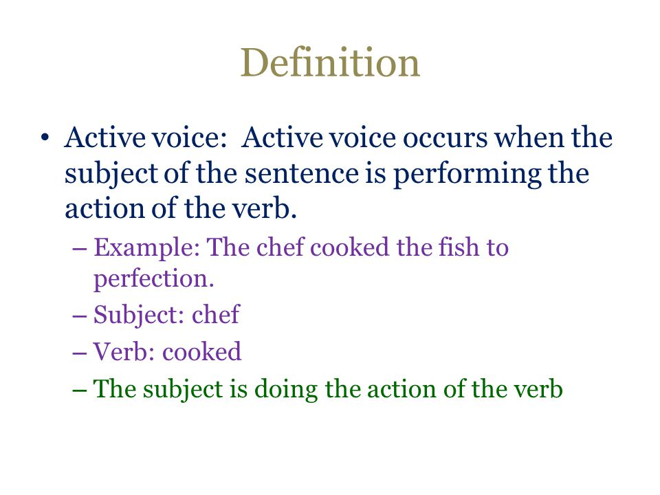 thesis passive or active voice Dissertation and thesis writing retreat  active and passive voice are used in different types of writing for different types of effects and sentence structure .