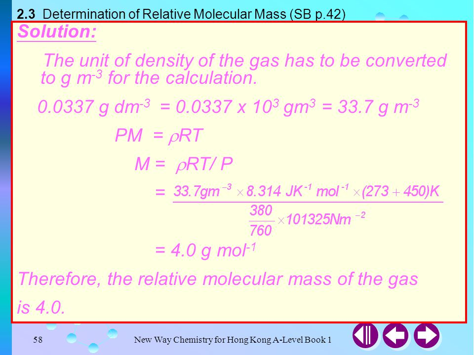 Titration calculations relative molecular masses and