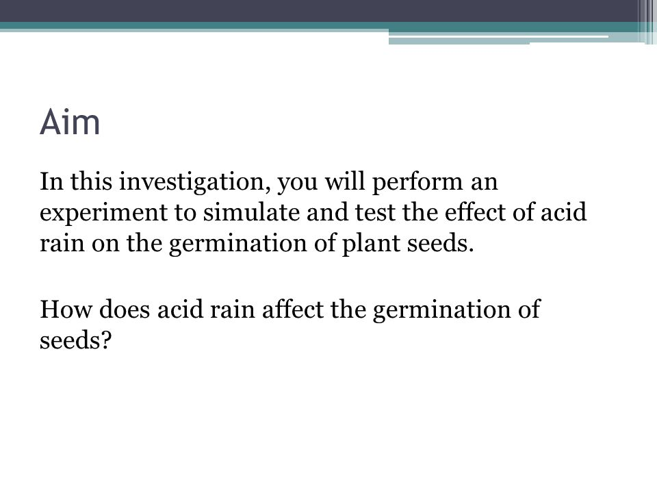 How Do You Create an Acid Rain Science Fair Project?