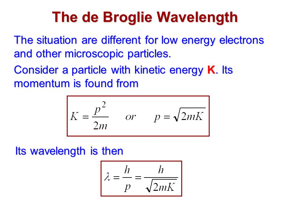how to find wavelength of a buckyball