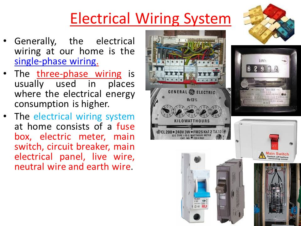 Stunning Types Of Electrical Wires Contemporary - Electrical Circuit ...