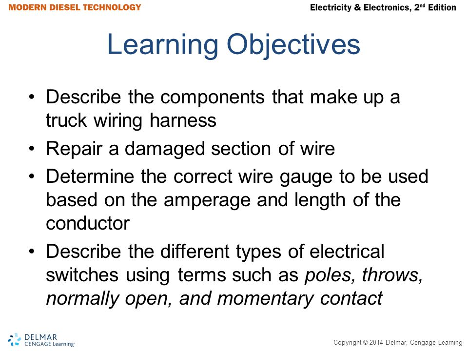 Learning+Objectives+Describe+the+components+that+make+up+a+truck+wiring+harness.+Repair+a+damaged+section+of+wire. electrical components ppt download wiring harness connector at crackthecode.co