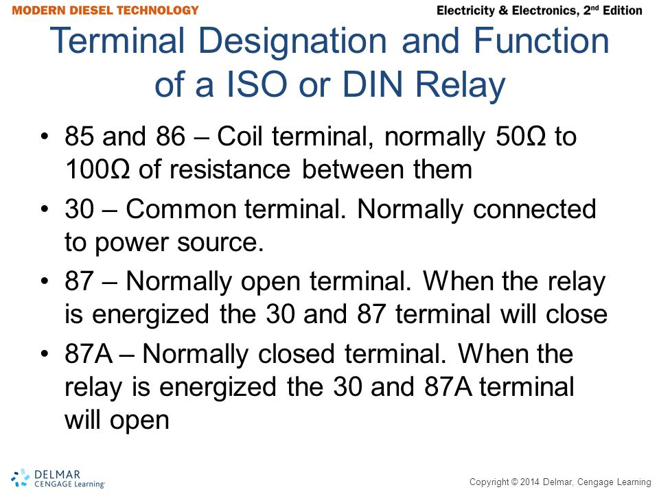 Asd Relay Terminal Identification Relay Voltage NEW OEM 4 BLADE