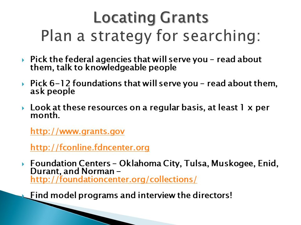 Grant writing workshop ppt download for How to read a foundation plan