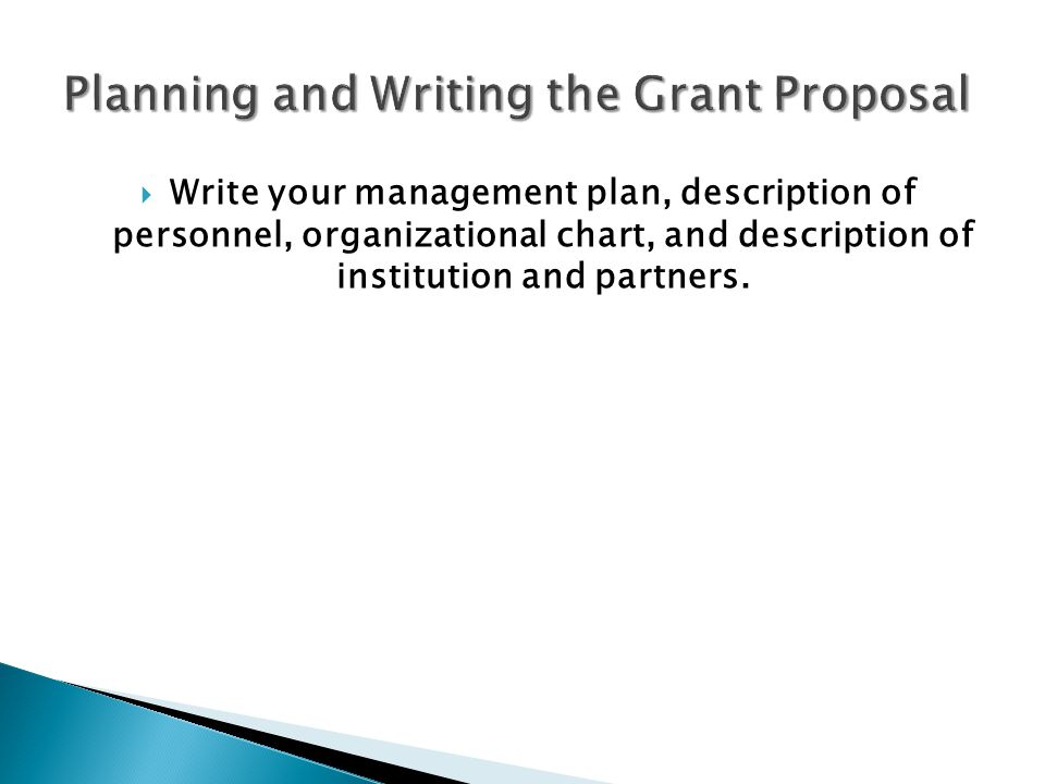how to write an evaluation plan for a grant