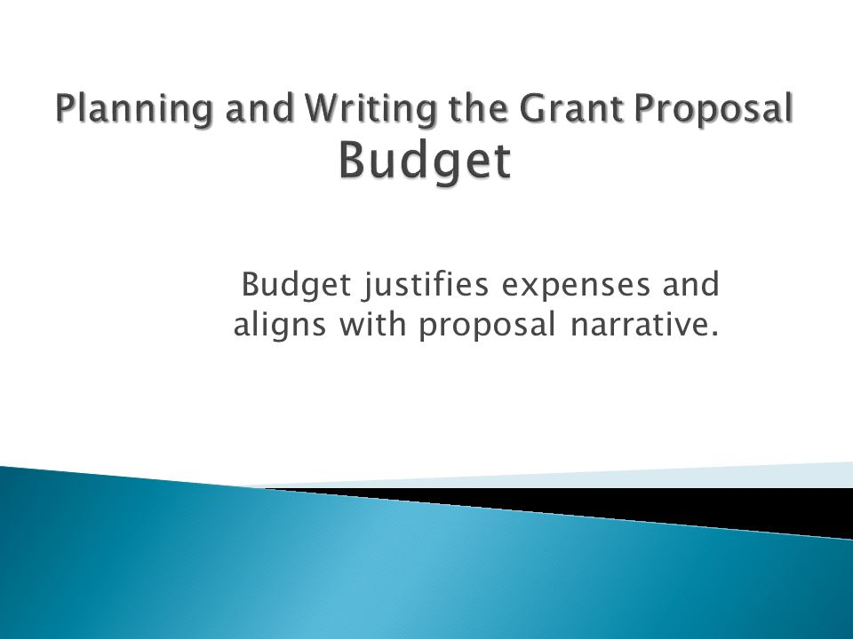 proposal planning and writing pdf