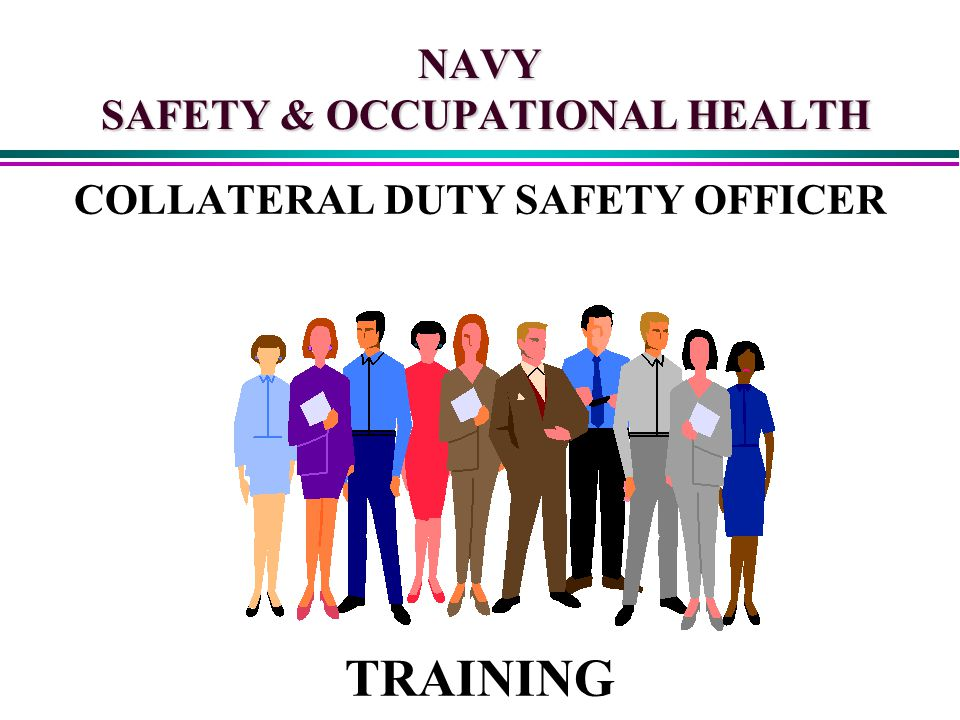 NAVY SAFETY OCCUPATIONAL HEALTH