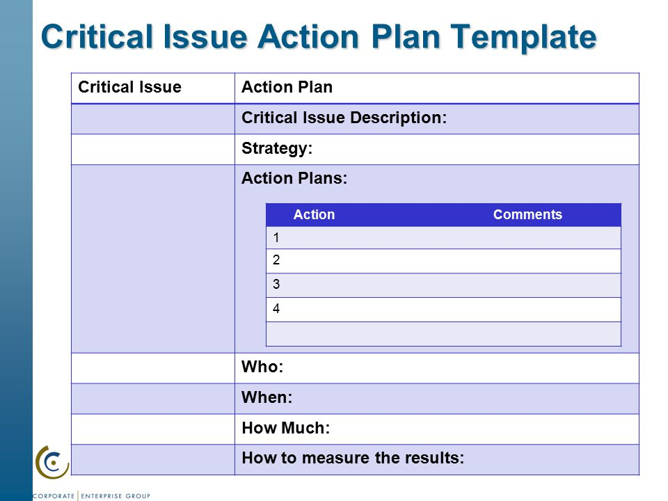 Strategic Action Plan Process And Workshop  Ppt Download
