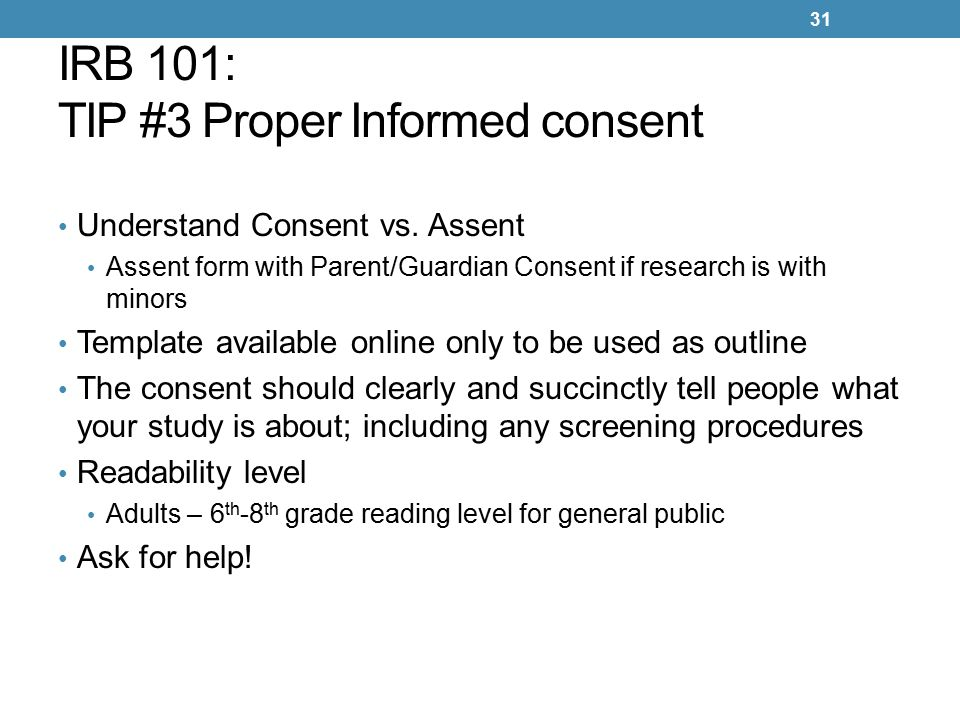 Irb 101 human subjects protection program and irb ppt download 31 irb pronofoot35fo Choice Image
