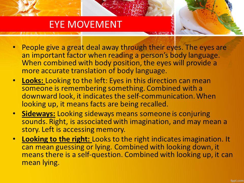 eye direction and lying pdf