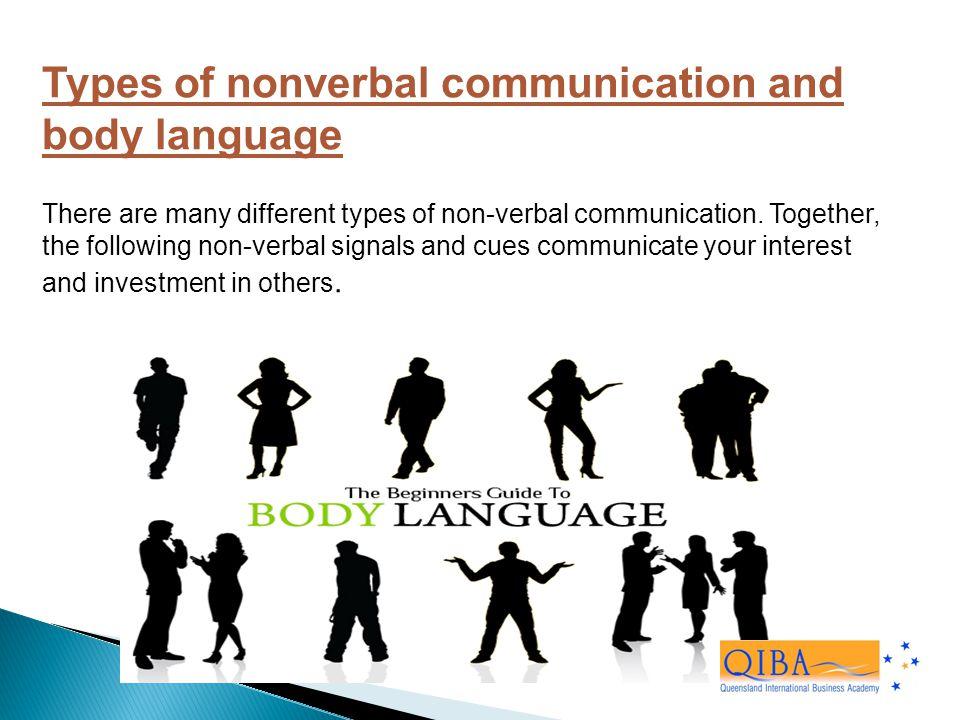 nonverbal language
