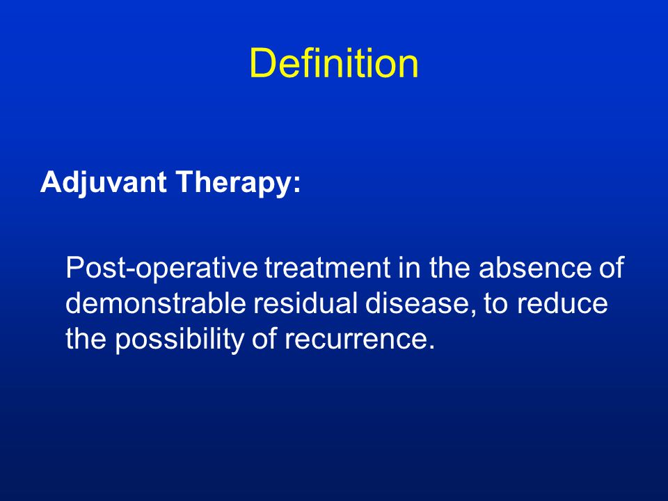 Adjuvant - definition of adjuvant by The Free Dictionary