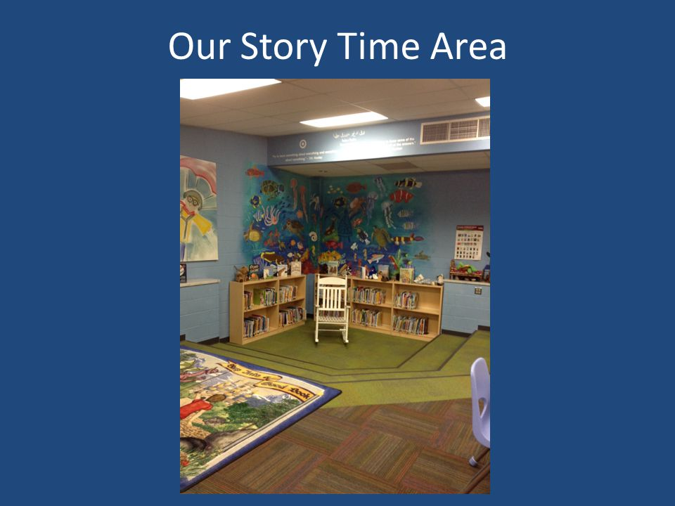 Our Story Time Area