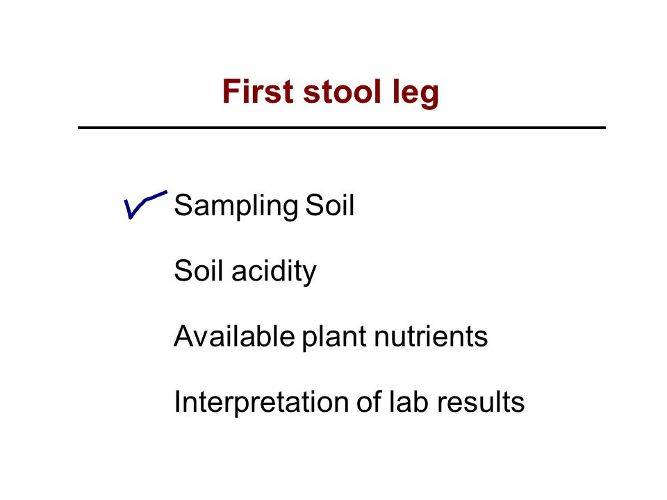 Soil and plant sampling and analysis ppt video online for Soil and plant lab