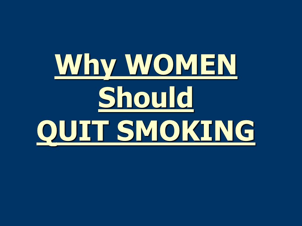 why you should quit smoking essay