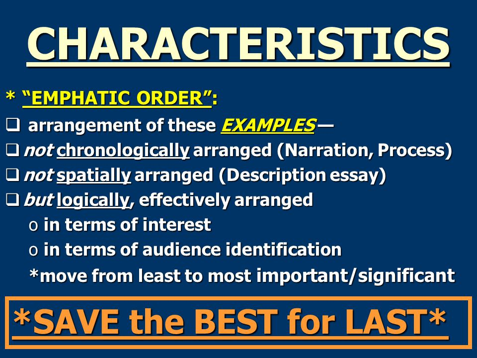 emphatic thesis Easy ways to write a thesis statement updated on april 11, 2017  thesis statements explain what you want the reader to think, do, believe or know are usually just one sentence most often come at the end of the first or second paragraph  add emphasis steps 1-4 will make a very strong thesis, but if you want to bump it up to the next.
