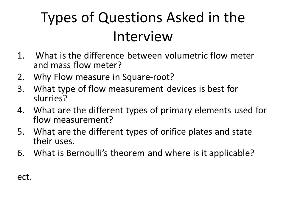 types of questions 1 managing and manipulating survey data: a beginners guide chase harrison department of government harvard university types of measures • interval / continuous.