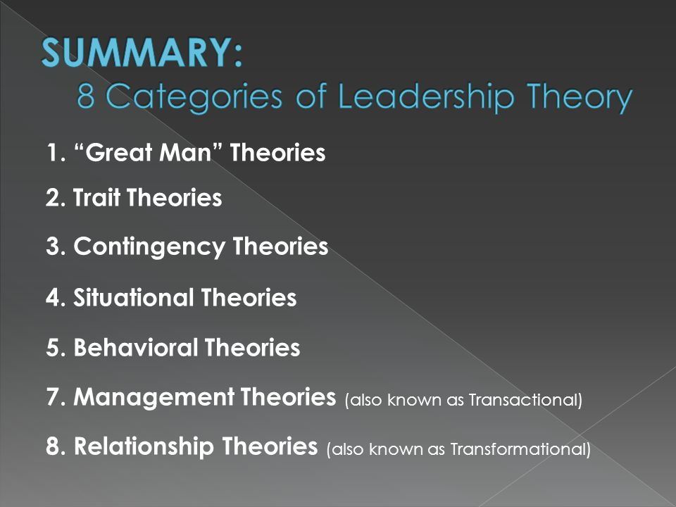 transactional and transformational leadership as the quality of person Transactional and transformational leadership as a new paradigm of quality effects on creation of roles and processes in the organization from the leaders are (transformer) an individual personality set apart form ordinary people and endowed with supernatural, superhaman powers, and heroic qualities in short part.