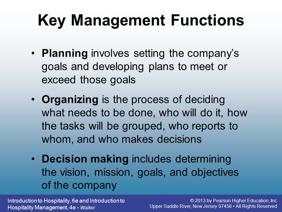managerial functions The fifth major managerial function, controlling, is comprised of activities that measure and evaluate the outcome of planning, organizing, staffing, and leading efforts.