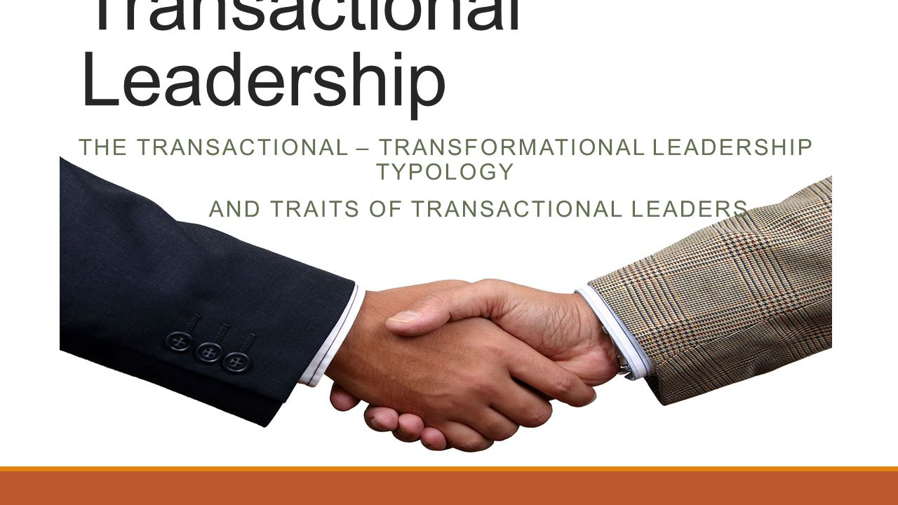 transactional leadership theory The most important difference between transactional and transformational leadership is that transactional leadership is best for settled environment, but.