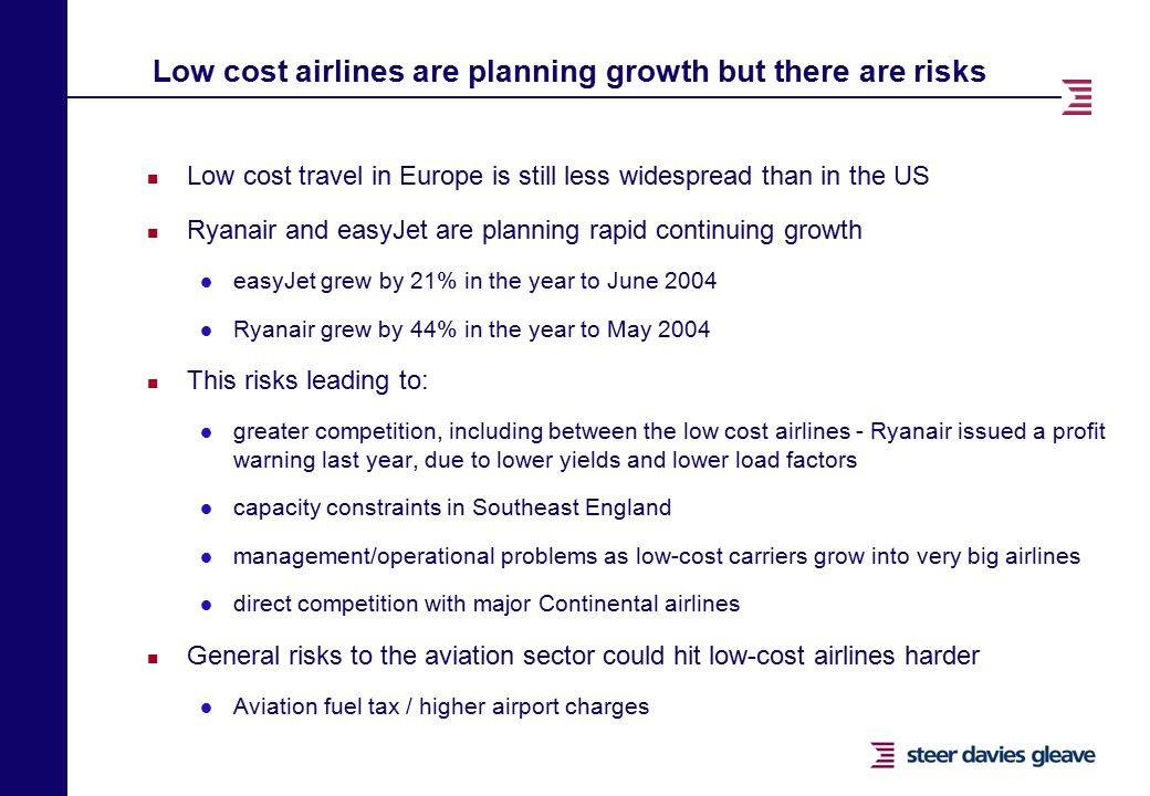 effect of low cost airlines to The disparity between the relative success of low-cost and network carriers since  2001 has often been  less obvious is the effect on utilization of spoke.