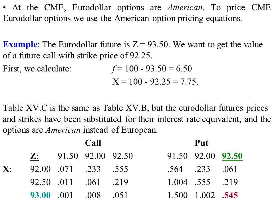 Calculate delta stock options