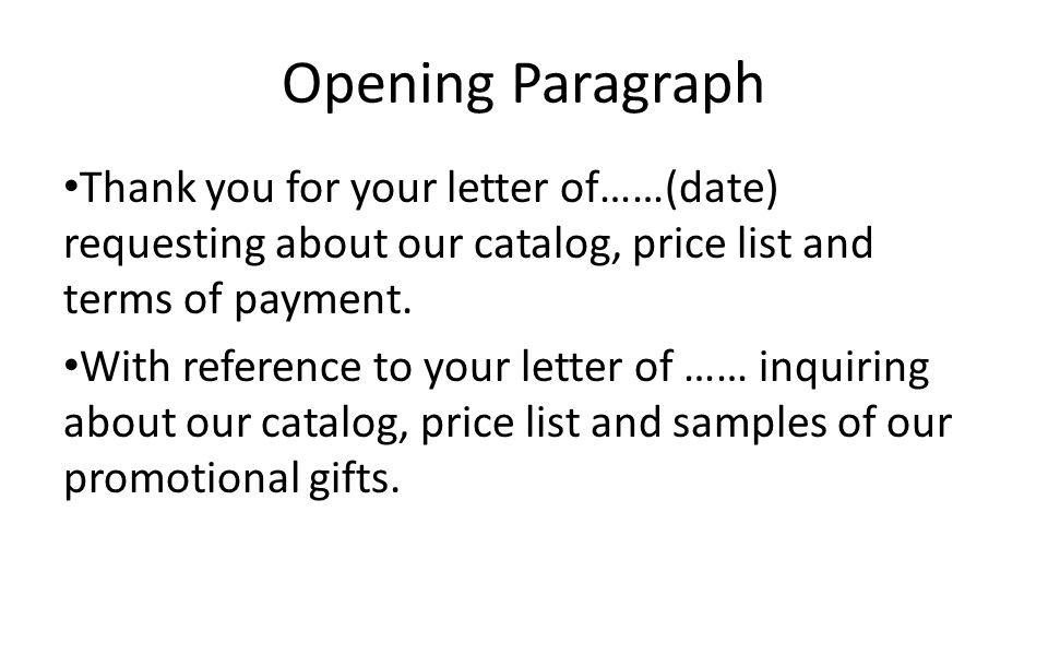 excellent opening paragraph cover letter
