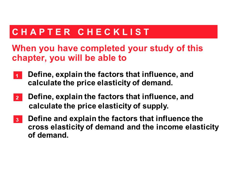 Importance of the Concept of Elasticity of Demand