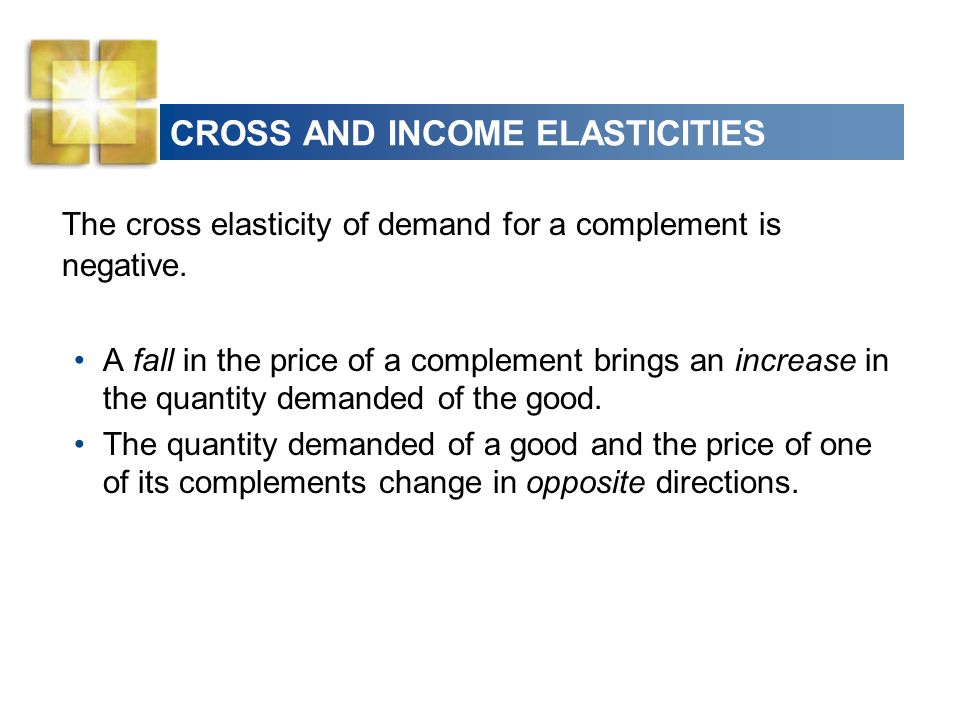 price income and cross elasticity of demand essay Price, income and cross elasticities of demand price, income and cross elasticities of demand price, income & cross elasticities of demand quick revise price elasticity of demand elasticity looks at the responsiveness of one variable to a change in another cross elasticity of demand.