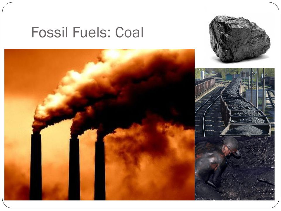 Fossil Fuels: Coal
