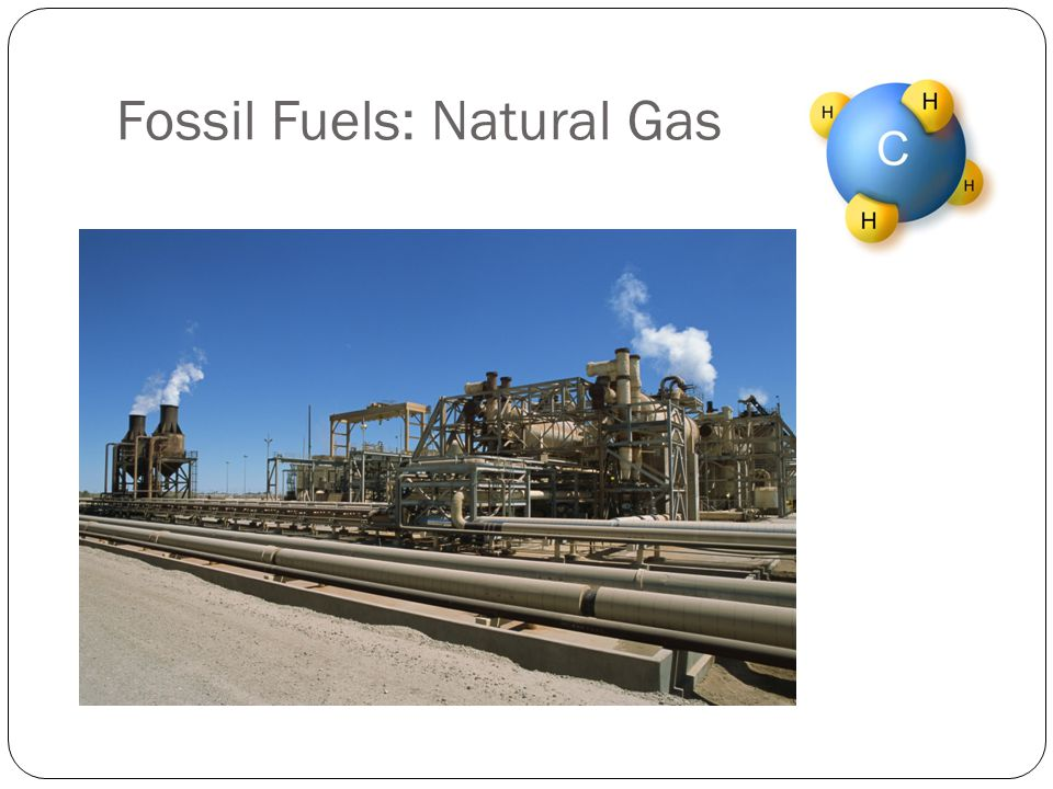 Fossil Fuels: Natural Gas