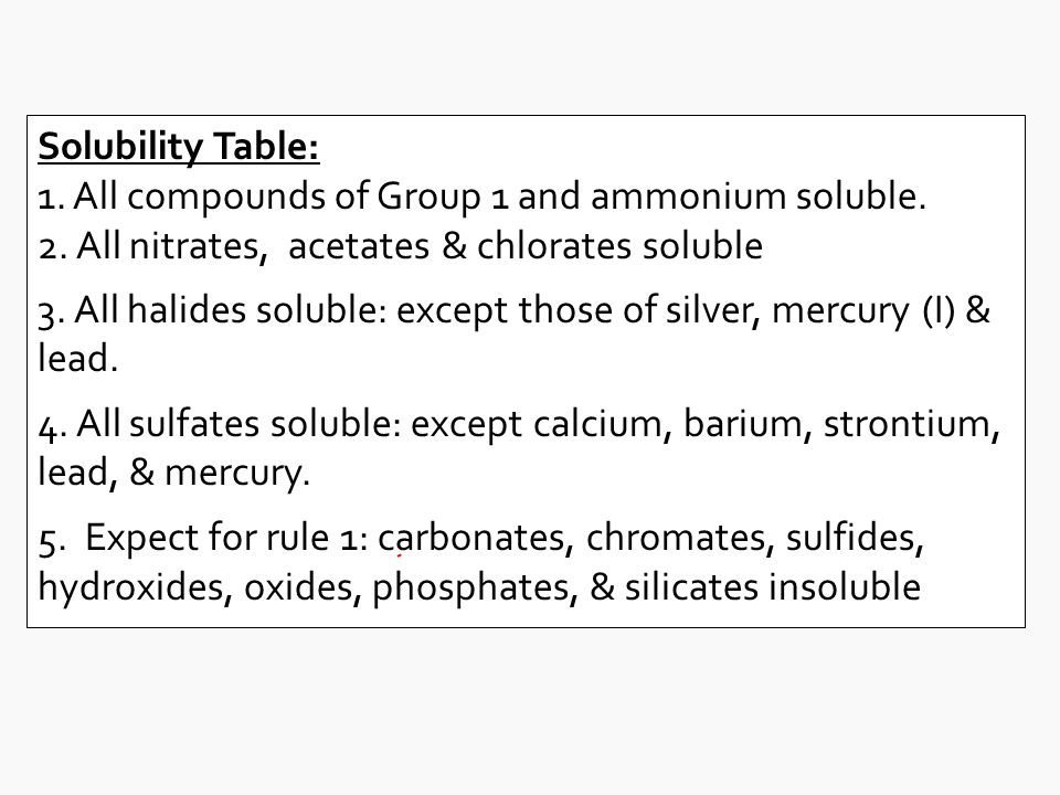 solubility of ammonium chloride Ammonium chloride is an inorganic compound with the formula nh 4 cl and a white crystalline salt that is highly soluble in water solutions of ammonium chloride are.