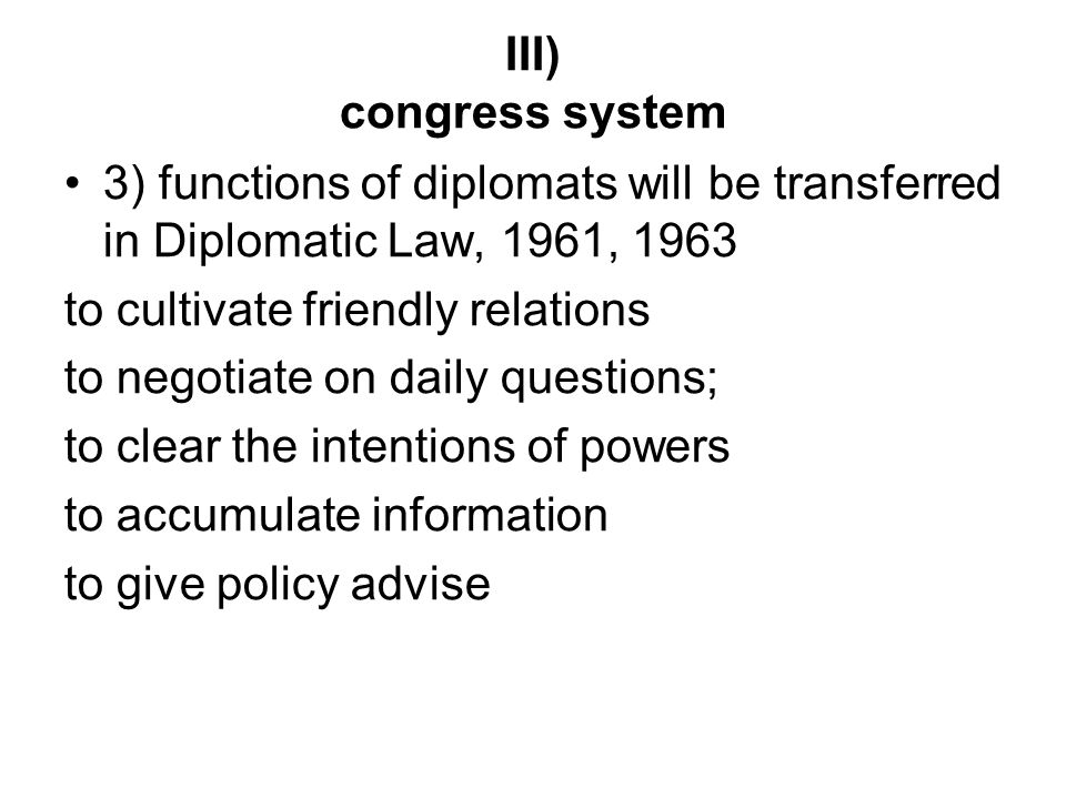 functions of diplomats A diplomat is a person appointed by a state to conduct diplomacy with one or more other states or international the main functions of diplomats are.