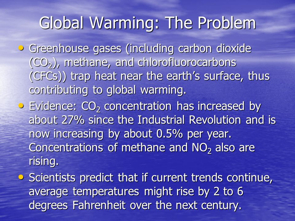 global warming a global problem The international journal of global warming, from inderscience publishers,  brings  it also address issues related to global changes as a direct/indirect  result of.